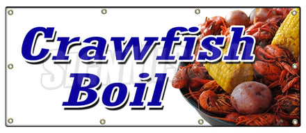 Crawfish Boil Banner