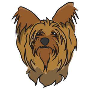 Yorkshire Terrier Dog Decal