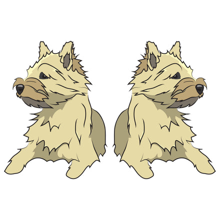 Cairn Terrier Dog Decal