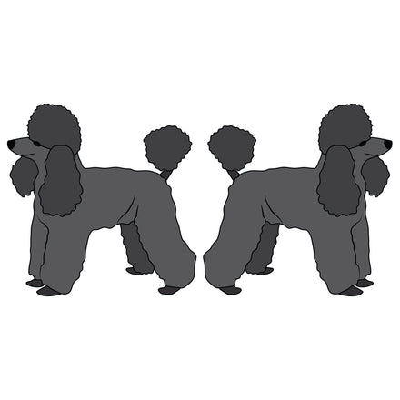 Toy Poodle Dog Decal