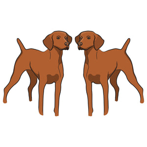 Vizsla Dog Decal