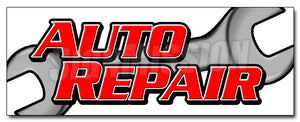 Auto Repair Decal