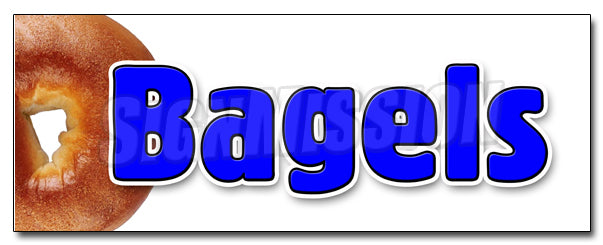 Bagels 1 Decal