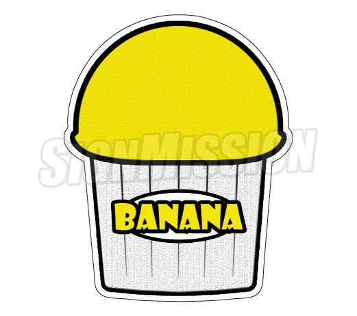 Banana Flavor Decal