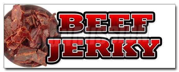Beef Jerky Decal