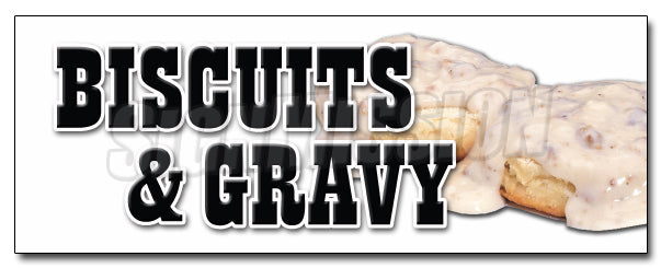 Biscuits & Gravy Decal
