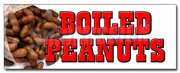 Boiled Peanuts Decal