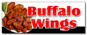 Buffalo Wings Decal