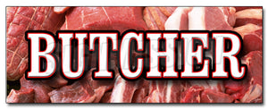 Butcher Decal