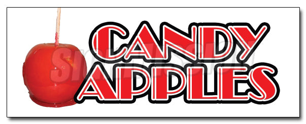 Candy Apples Decal