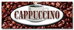 Cappuccino Decal