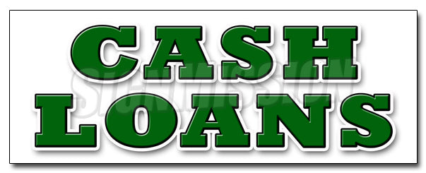 Cash Loans Decal