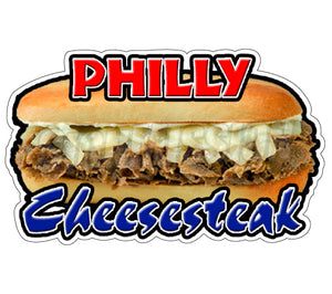 Cheesesteak Decal