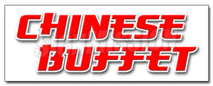 Chinese Buffet Decal