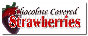 Chocolate Covered Strawberries Decal