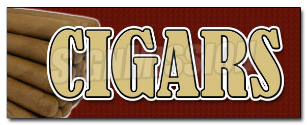 Cigars Decal