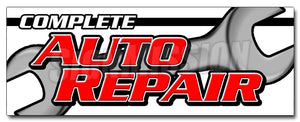 Complete Auto Repair Decal