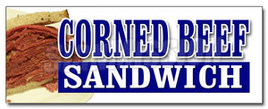 Corned Beef Sandwich Decal