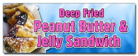 Deep Fried Peanut Butter J Decal