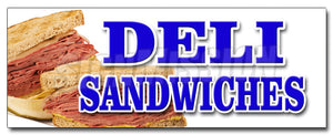 Deli Sandwiches Decal