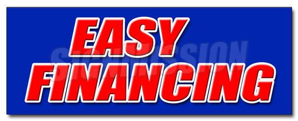 Easy Financing Decal