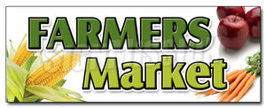 Farmers Market Decal