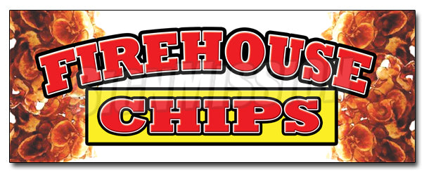 Firehouse Chips Decal