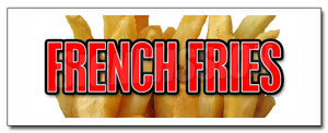 French Fries Decal