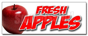 Fresh Apples Decal
