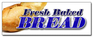 Fresh Baked Bread Decal