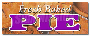 Fresh Baked Pies Decal