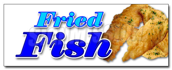 Fried Fish Decal