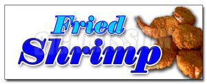 Fried Shrimp Decal