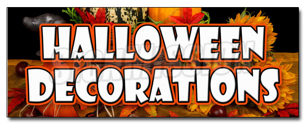 Halloween Decorations Decal
