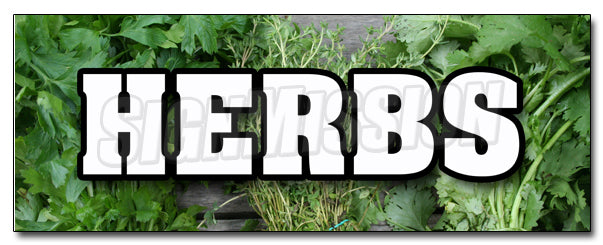 Herbs Decal