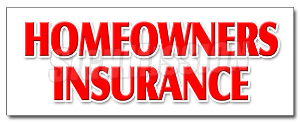 Homeowners Insurance Decal