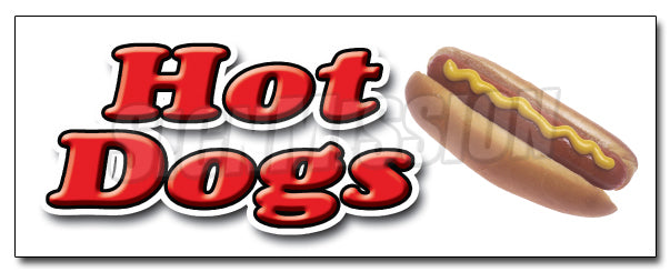 Hot Dogs1 Decal