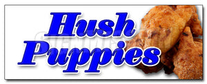Hush Puppies Decal