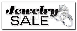 Jewelry Sale Decal