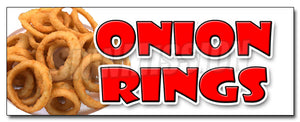Onion Rings Decal