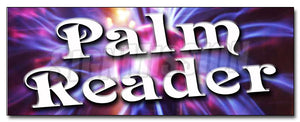 Palm Reader Decal