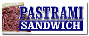 Pastrami Sandwich Decal