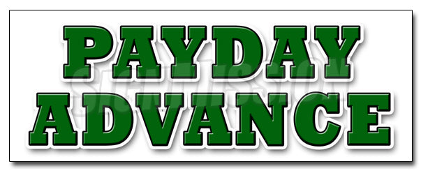 Payday Advance Decal