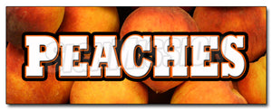 Peaches Decal
