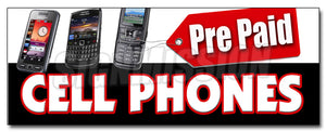 Prepaid Cell Phones Decal