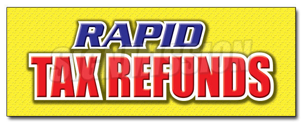 Rapid Tax Refunds Decal