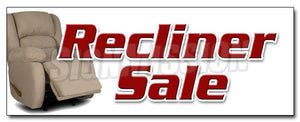 Recliner Sale Decal