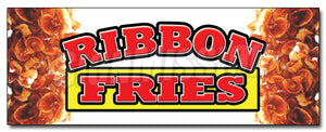 Ribbon Fries Decal