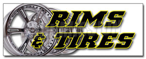 Rims & Tires Decal