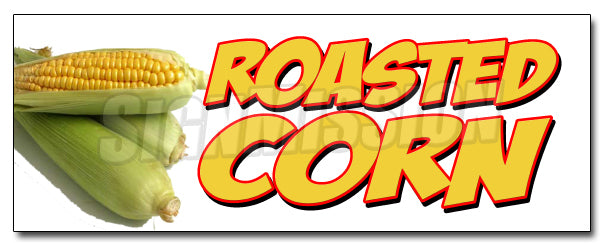 Roasted Corn Decal